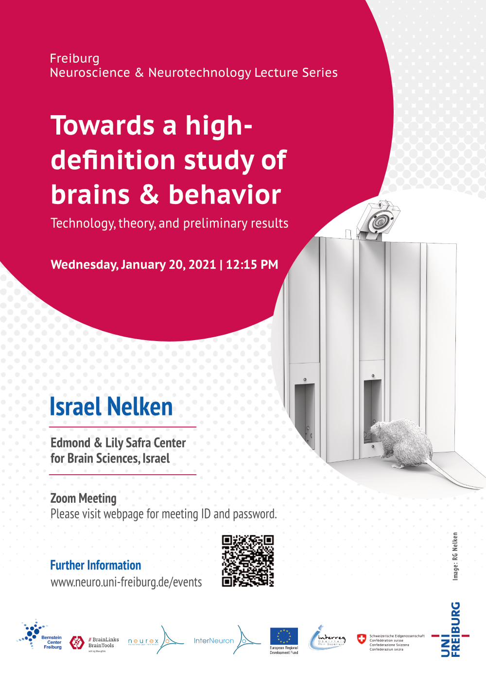 Poster Lecture Israel Nelken